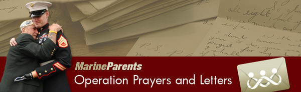 Operation Prayers and Letters Newsletter